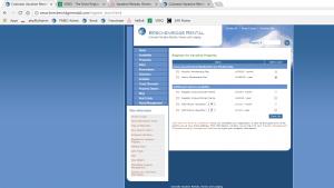 Breckenridge Rental Current Register Screen